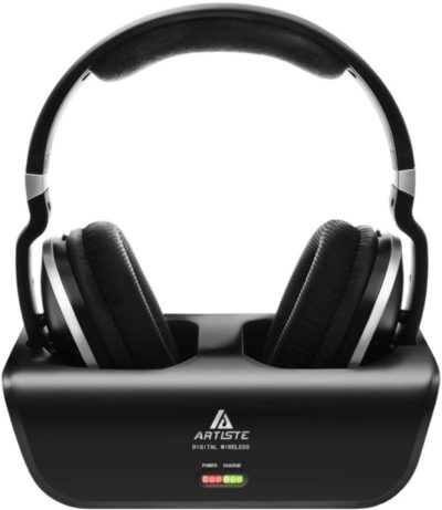 8. Artiste Wireless TV Headphones