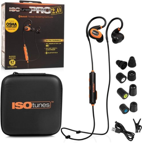 8. ISOtunes Bluetooth Earplug Headphones
