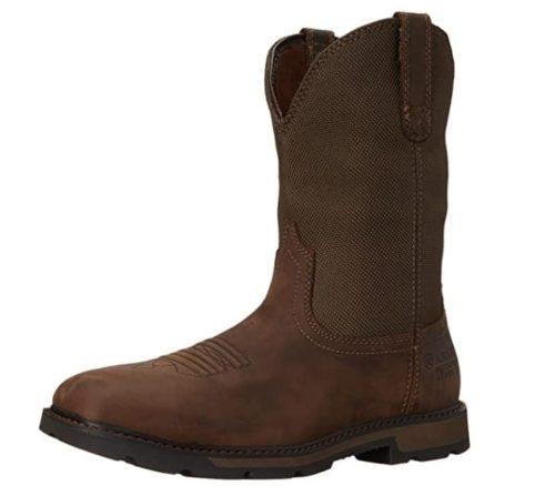 Ariat Waterproof Work Boots for Men Comfortable Lightweight Steel Toe Boots Moc Toe Work Boots