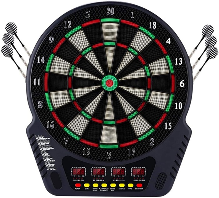 Plohee Electronic Dartboard Set