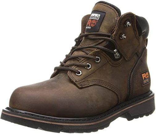 Timberland Work Boots Pro Pit Boos Lightweight Steel Toe Boots, Top Rated Waterproof Work Boots for Men