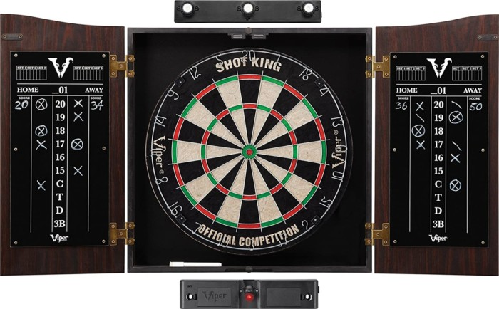 Viper Vault Shot King Sisal/Bristle Dartboard