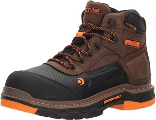Wolverine Boots Men Composite Toe Waterproof Work Boots Top Rated Waterproof Boots