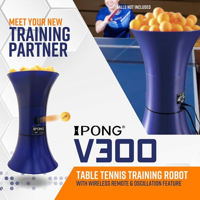 iPong Table Tennis Training Robot