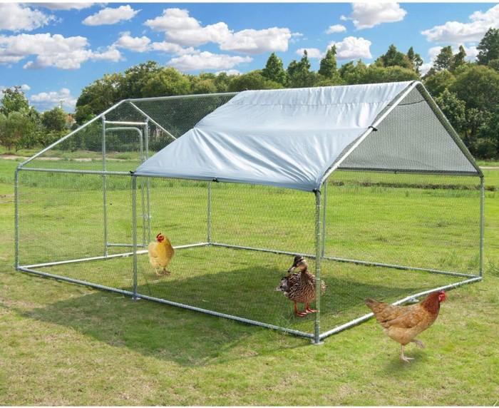 Large Metal Chicken