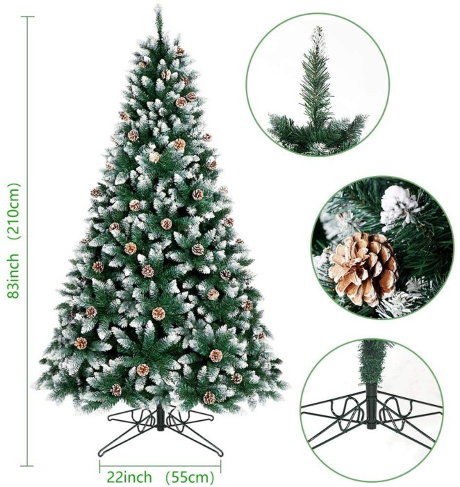 OurWarm 7ft Artificial Christmas Tree