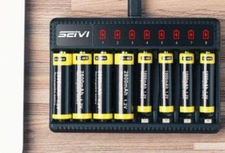 Rechargeable Batteries with Battery Chargers