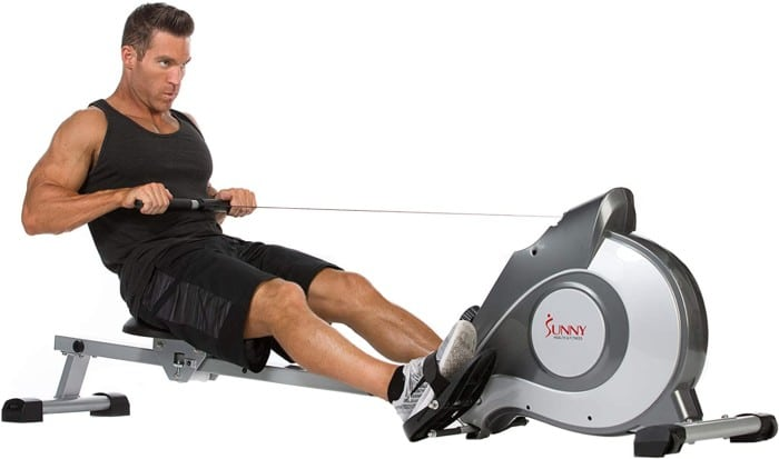 Sunny Health & Fitness Magnetic Rowing