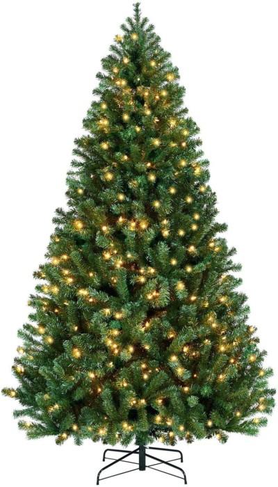 YAHEETECH Prelit Artificial Christmas Tree