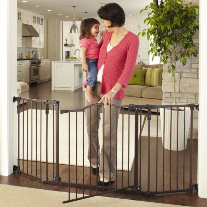 "Toddleroo  72"" Extra Wide Baby Gates"
