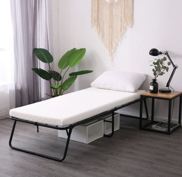 Leisuit Portable Rollaway Guest Bed Cot