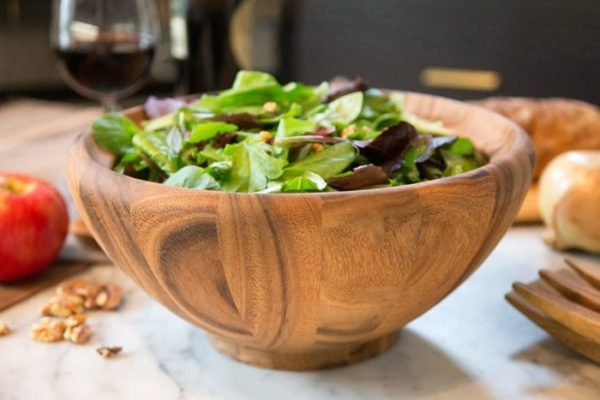 Ironwood Gourmet Salinas Wooden Bowl